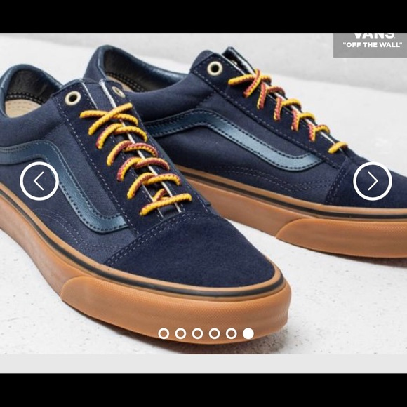 3a802850e47c29 VANS OLD SKOOL MEN (GUMSOLE) SKY CAPTAIN  BOO